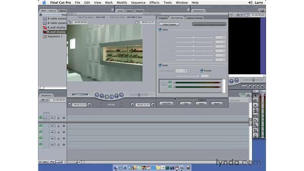 Capturing DV pt. 2: Final Cut Pro 5 Essential Editing