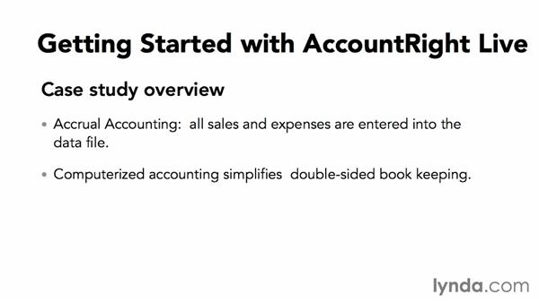 Case study overview: MYOB AccountRight 2013 Essential Training