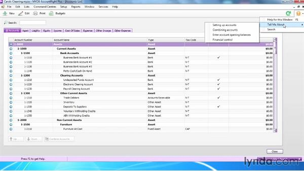 Using the Help Centre: MYOB AccountRight 2013 Essential Training