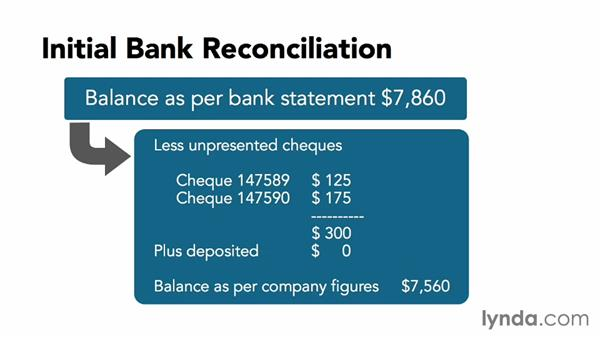 An overview of reconciling: MYOB AccountRight 2013 Essential Training