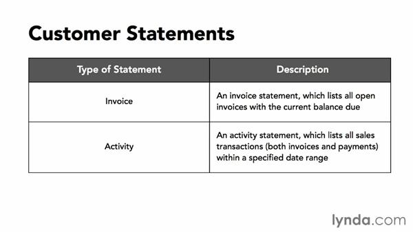 Customer statements: MYOB AccountRight 2013 Essential Training
