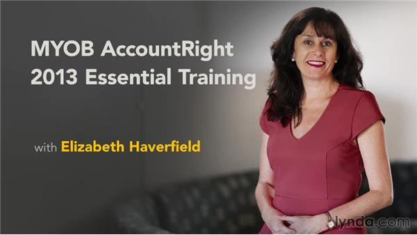 Next steps: MYOB AccountRight 2013 Essential Training