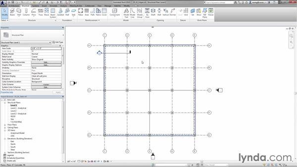 Adding slab edges: Creating Concrete Buildings with Revit Structure