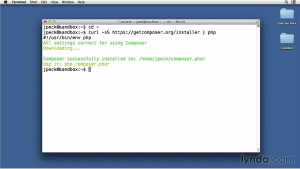 Installing Composer and PEAR for PHP dependency management: Up and Running with Linux for PHP Developers
