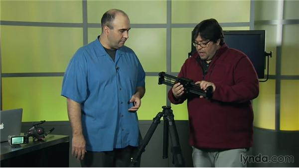 Attaching the slider: Video Gear Weekly