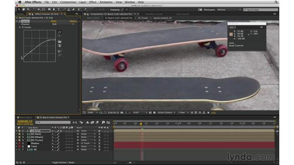 Understand what Curves can do like no other color corrector: After Effects Compositing 03: Advanced Matching and Looks