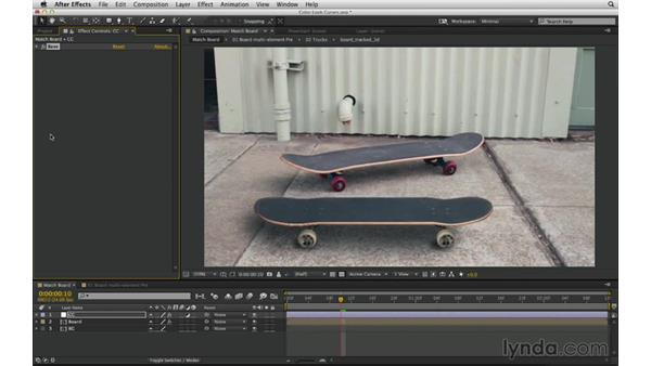 Set guide layers to freely add a nonrendering reference: After Effects Compositing 03: Advanced Matching and Looks