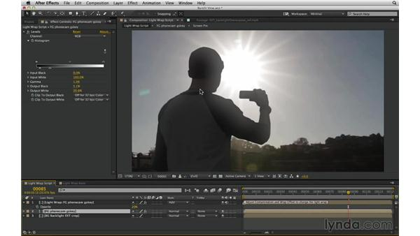 Study a reference; then bend the rules of lighting: After Effects Compositing 03: Advanced Matching and Looks