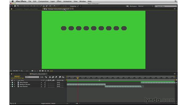 Shutter speed vs. frame rate: After Effects Compositing 03: Advanced Matching and Looks