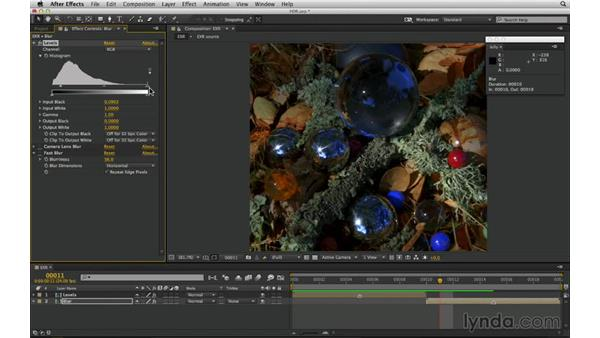 Know the fundamental differences between HDR and LDR: After Effects Compositing 03: Advanced Matching and Looks