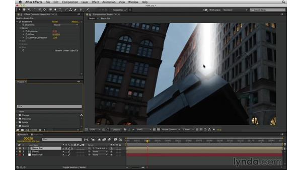 Work in HDR, even when beginning in LDR: After Effects Compositing 03: Advanced Matching and Looks