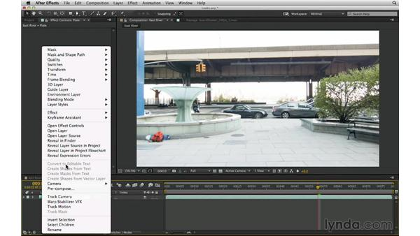Determine a starting point: Make it flat: After Effects Compositing 03: Advanced Matching and Looks