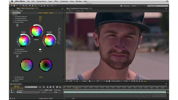 Know your color-grading options and approach: After Effects Compositing 03: Advanced Matching and Looks