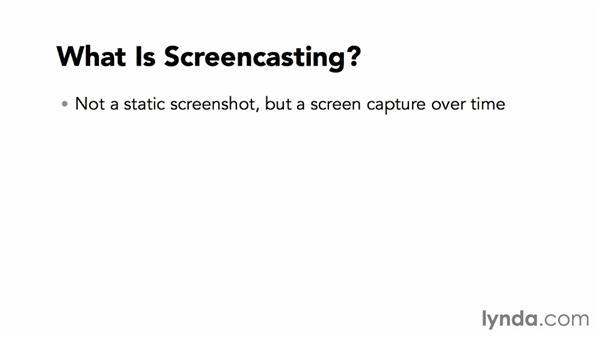 What is screencasting?: Screencasting Fundamentals