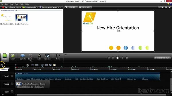 Editing your project: Screencasting Fundamentals