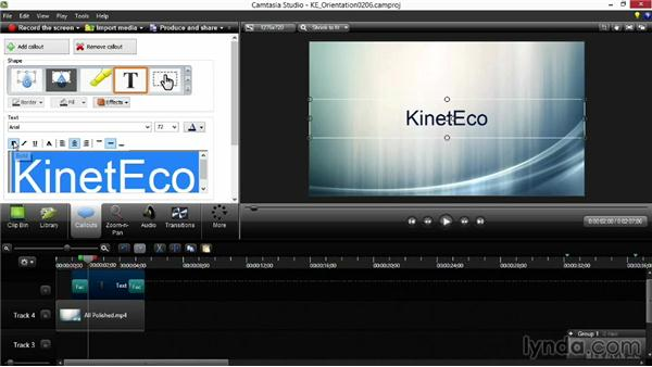 Adding elements and using themes: Screencasting Fundamentals