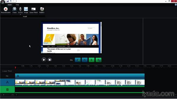 Capturing screens with Replay: Screencasting Fundamentals