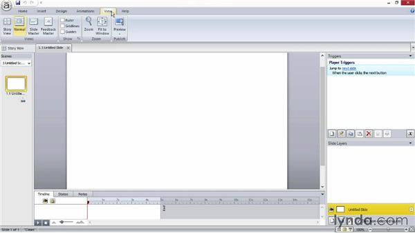 Exploring the user interface: Screencasting Fundamentals