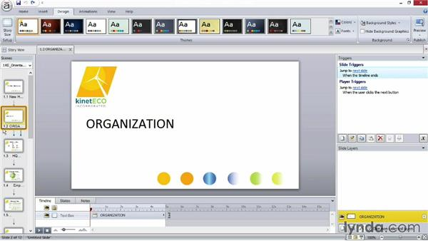 Adding interest with themes: Screencasting Fundamentals