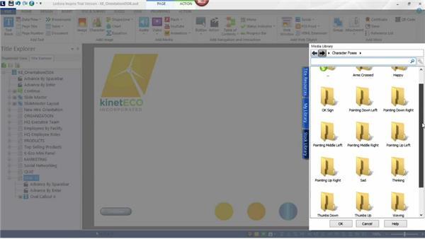 Using characters for visual interest: Screencasting Fundamentals
