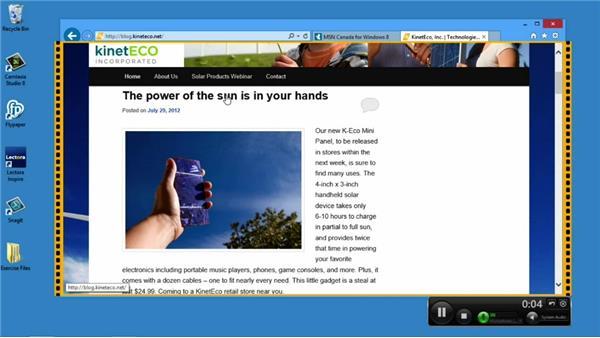 Recording your screen with Camtasia: Screencasting Fundamentals