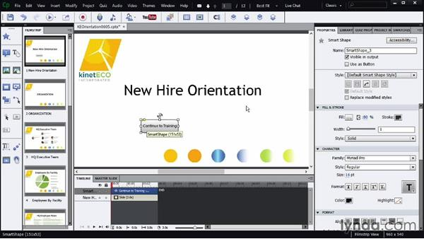 Creating interactivity with interactions: Screencasting Fundamentals