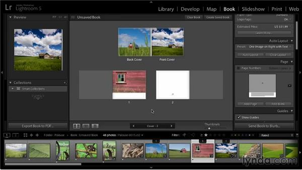 Starting from a blank book: Lightroom 5: 07 Making Photo Books