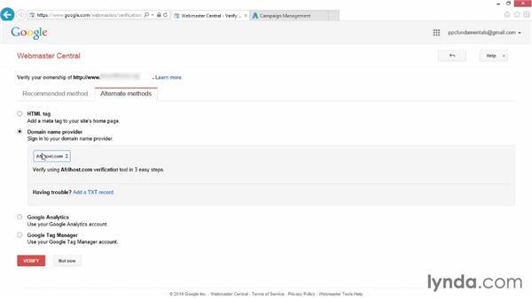 Setting up Google Merchant Center and Webmaster Tools: Google Shopping and PLA Fundamentals