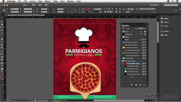 Working with color groups: InDesign: 2014 Creative Cloud Updates