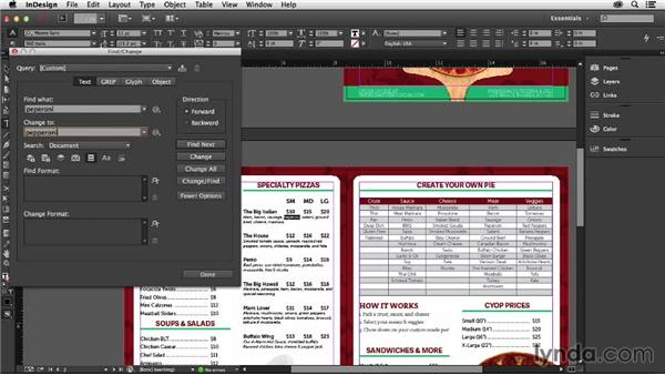 Using the enhanced Find/Change command: InDesign: 2014 Creative Cloud Updates