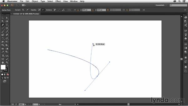 Working with the Pen tool preview: Illustrator: 2014 Creative Cloud Updates