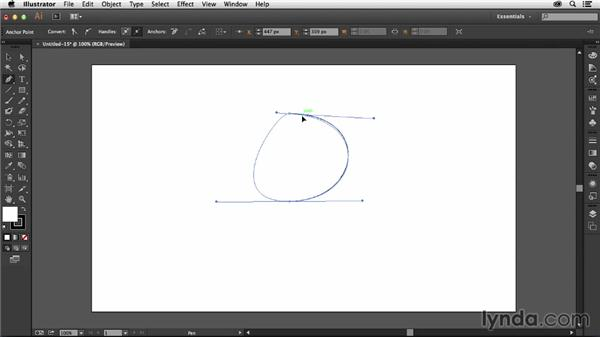 Working with anchor points: Illustrator: 2014 Creative Cloud Updates