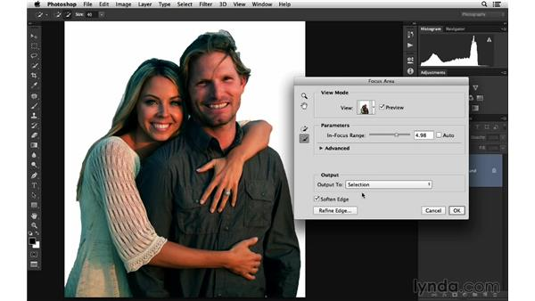 Improving color and light with Focus Area: Photoshop for Photographers: 2014 Creative Cloud Updates