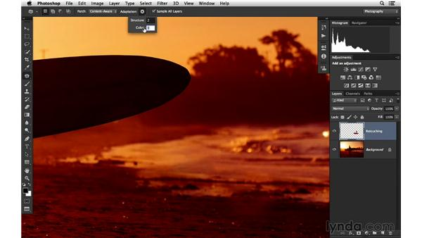 Better results with Content-Aware retouching: Photoshop for Photographers: 2014 Creative Cloud Updates