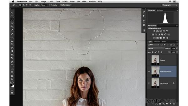 Removing distractions with Content-Aware Fill and Color Adaptation: Photoshop for Photographers: 2014 Creative Cloud Updates