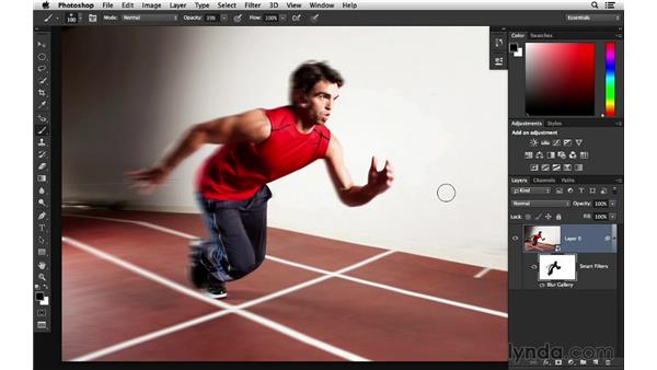 Creating blur effects that follow a path: Photoshop for Photographers: 2014 Creative Cloud Updates