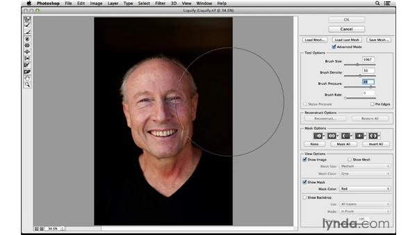 Protect (or pin) edges in the Liquify filter: Photoshop for Photographers: 2014 Creative Cloud Updates