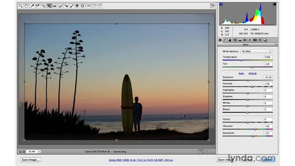 Change the crop orientation more quickly: Photoshop for Photographers: 2014 Creative Cloud Updates