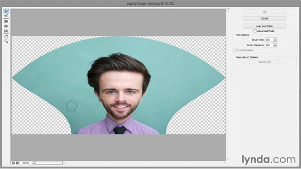 324 Creating a photographic caricature in Photoshop: Deke's Techniques
