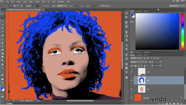 The scalable, more inclusive Color panel: Photoshop: 2014 Creative Cloud Updates