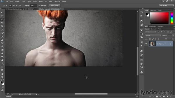 Content-Aware with Color Adaptation: Photoshop: 2014 Creative Cloud Updates