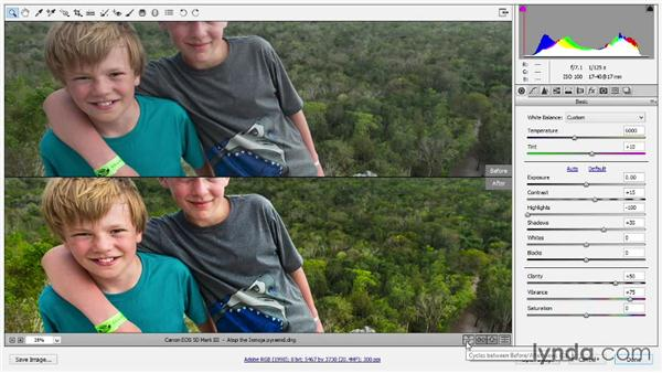 Previewing your adjustments in Camera Raw: Photoshop: 2014 Creative Cloud Updates