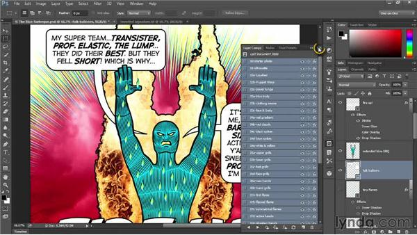 Synchronizing multiple layer comps: Photoshop: 2014 Creative Cloud Updates