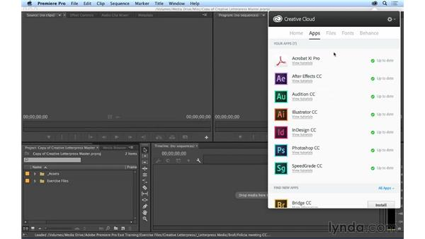 What is the Creative Cloud?: Premiere Pro CC Essential Training (2014)