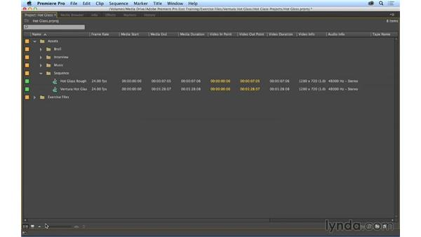 Going a bit deeper into the editing tools and layouts: Premiere Pro CC Essential Training (2014)
