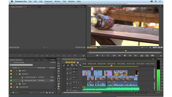 How to use this fast-track chapter: Premiere Pro CC Essential Training (2014)