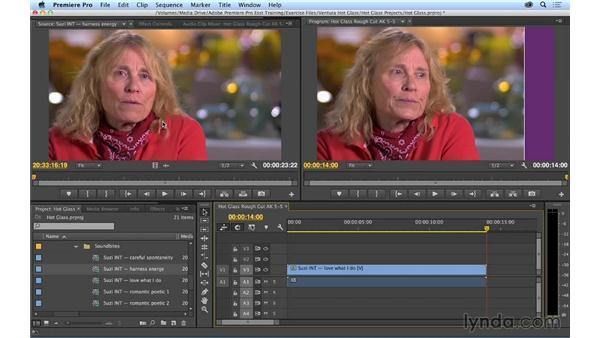 Basic editing: Premiere Pro CC Essential Training (2014)