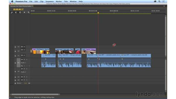 Refining the edit: Premiere Pro CC Essential Training (2014)