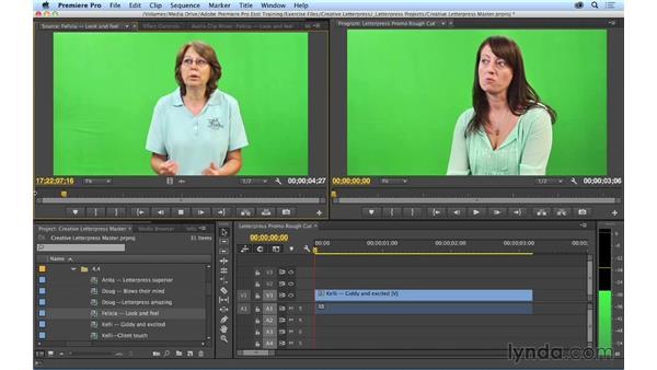 Performing insert edits: Premiere Pro CC Essential Training (2014)