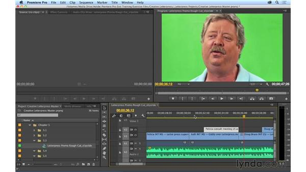 Changing clip content and position: Performing slip and slide edits: Premiere Pro CC Essential Training (2014)